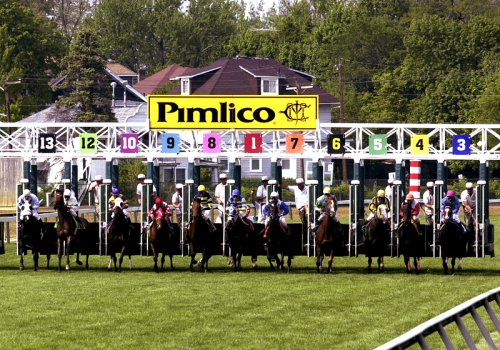 Pimlico Race Course home of the Preakness Stakes